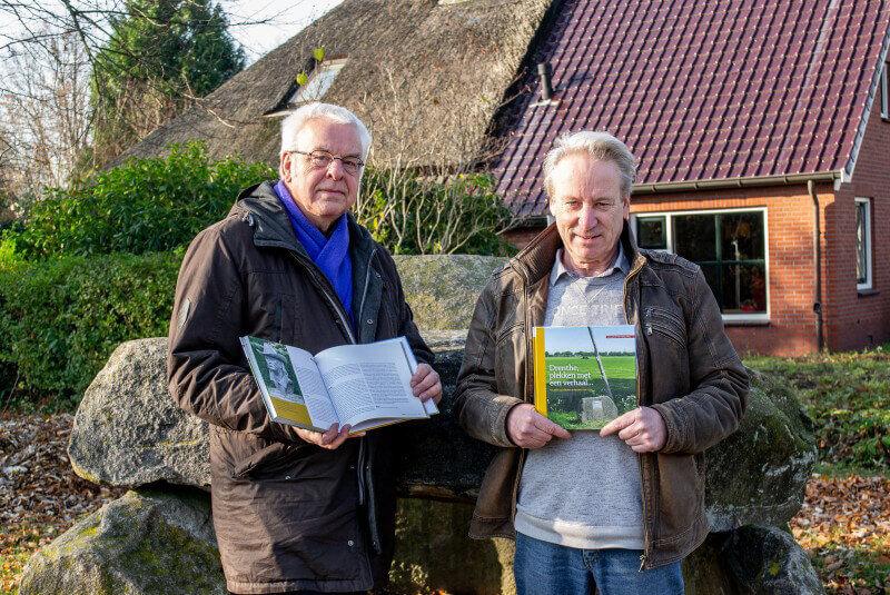 Anner duo schrijft boek over bijzondere plekken in Drenthe