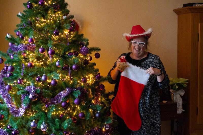 Bonny Jansen uit Annen vertelt over haar liefde voor kerst
