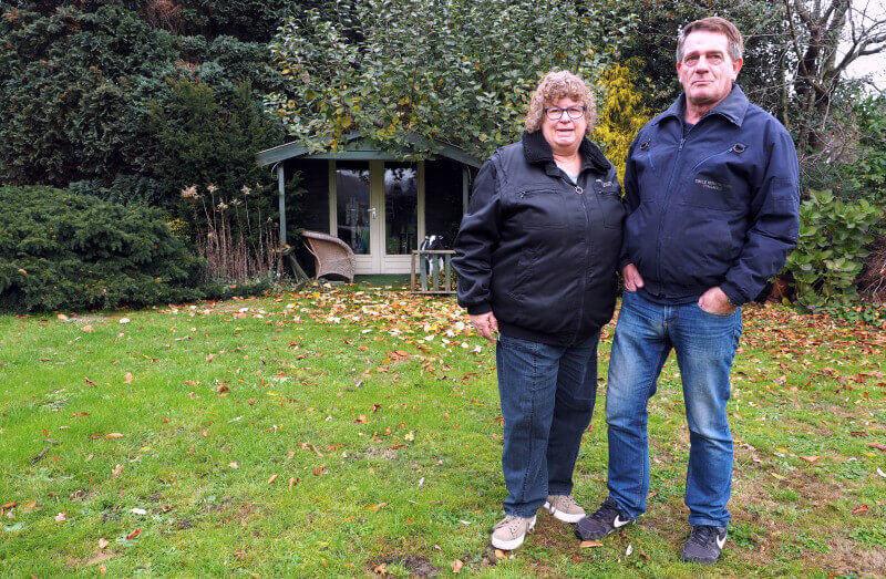 Henk en Grietje stoppen na 25 jaar met kerstboomverkoop