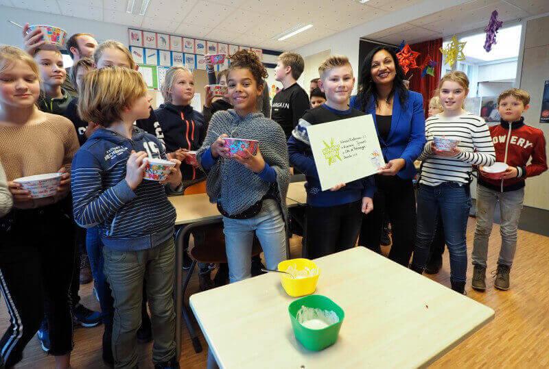 Kindermenu 2.0: een salade van Tom Hijszeler om van te watertanden