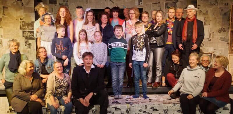 Dertig jaar Zeijer toneelvereniging Spotlicht; voorzitter Frits Milders vertelt