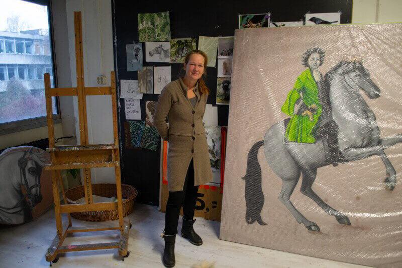 'De kunstacademie was aanvankelijk helemaal niks voor mij'