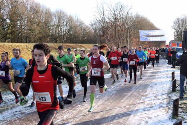 Snelle tijden bij de Arnoud Magnin Wintercross in Schipborg