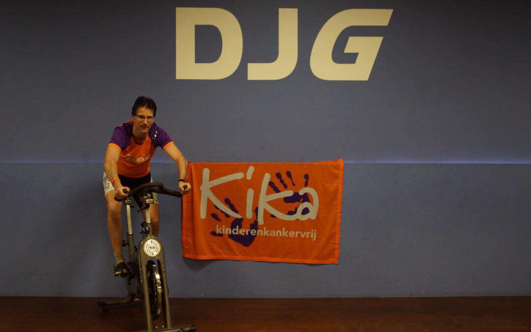 Martijn Roelfsema organiseert zaterdag spinningmarathon voor KiKa