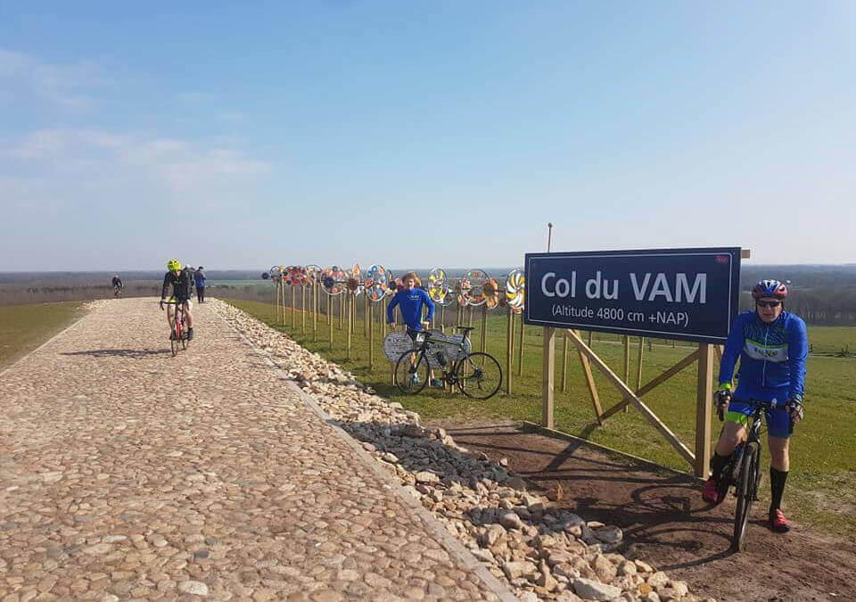 MV Moves Tynaarlo organiseert pentatlon op Col du VAM