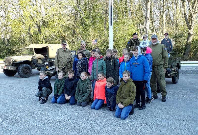 Project over Tweede Wereldoorlog voor basisscholen Vries