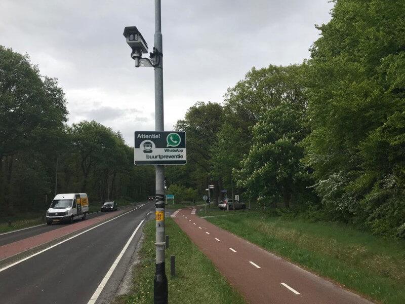 Camera's en tellussen in Zuidlaren voor verkeerstelling