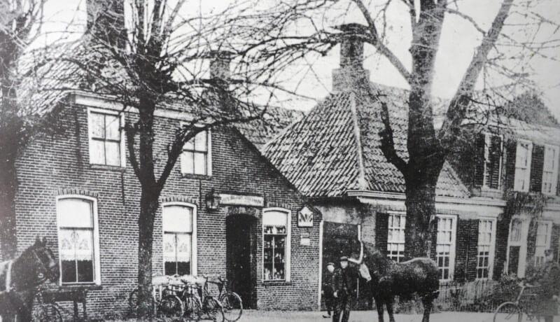 Van toen naar nu – Café Onder de Linden