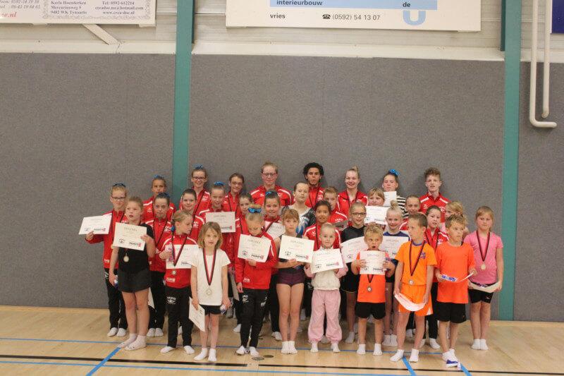 Eerste clubkampioenschappen VAKO Trampoline daverend succes