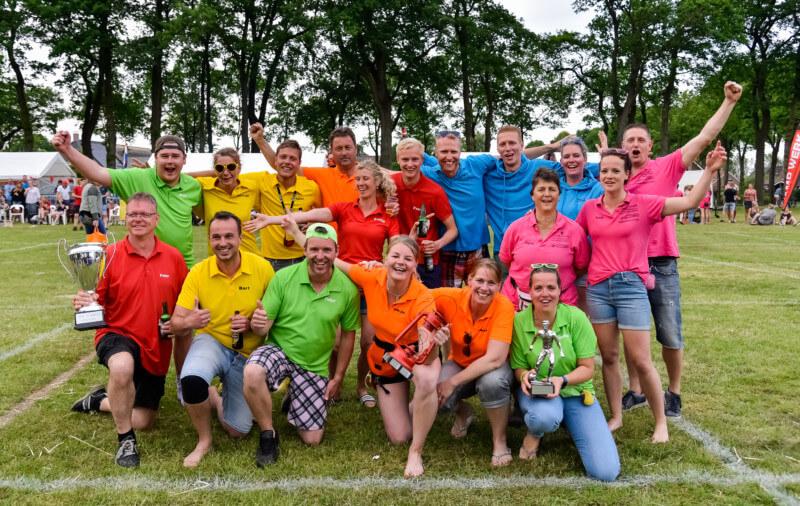 Ploeg Rood wint de Sport- en Spelweek in Annen