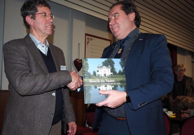 Levenswerk landgoed Bosch en Vaart gevierd met historisch boek