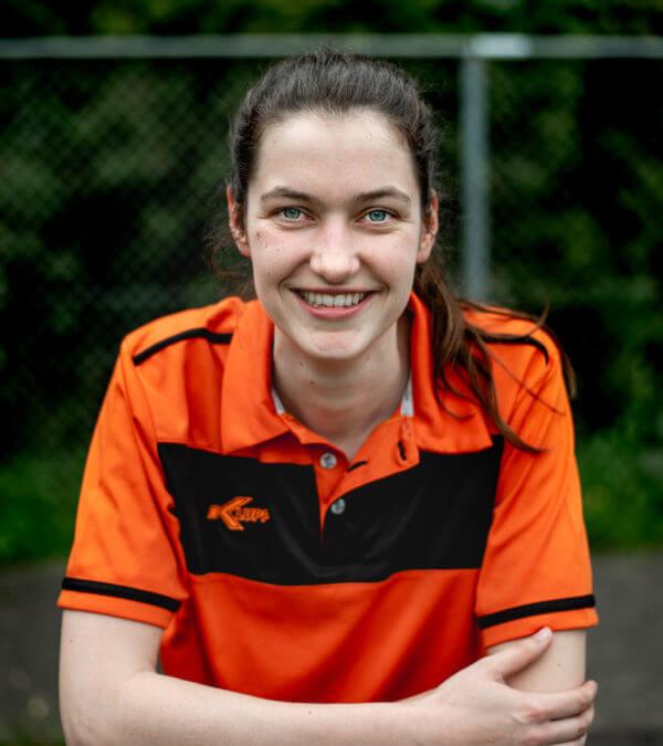 Jacqueline Pot uit Paterswolde is bondscoach van het Nederlands Rolstoelrugbyteam