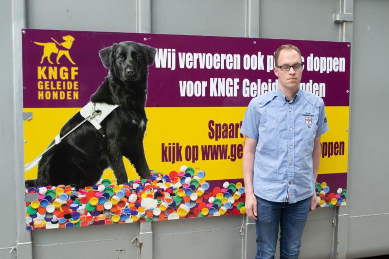 Inzamelpunt doppenactie KNGF Geleidehonden is in Donderen