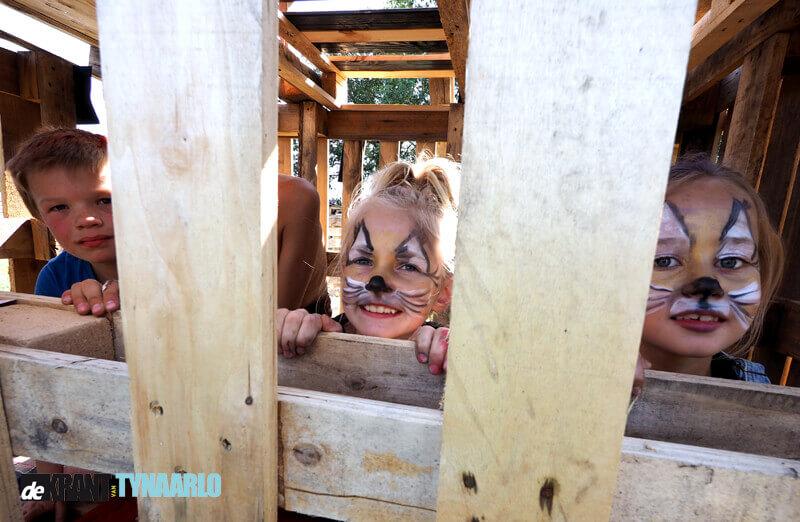 Kinderen uit Vries actief tijdens kinderspeldagen