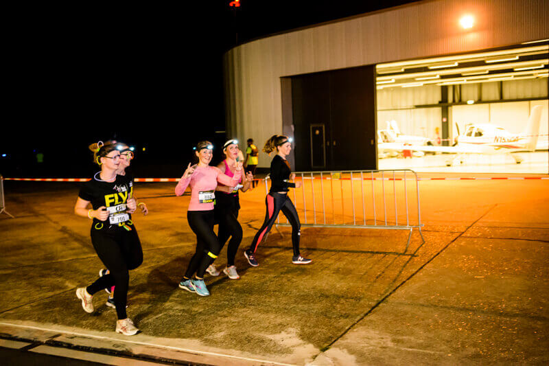 Inschrijving derde editie Mobility Service Airport Night Run geopend