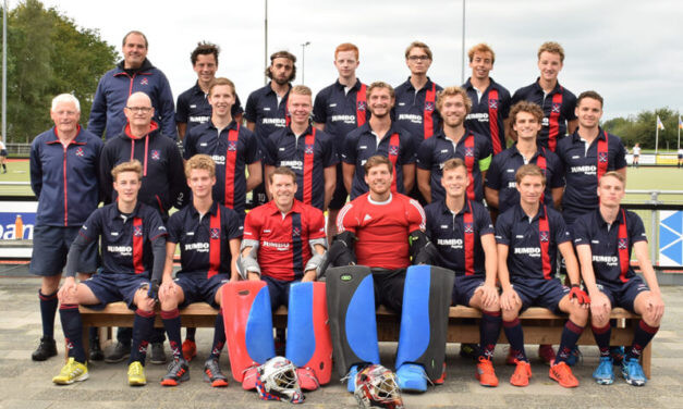 Goede competitiestart Hockey Club Eelde Heren 1