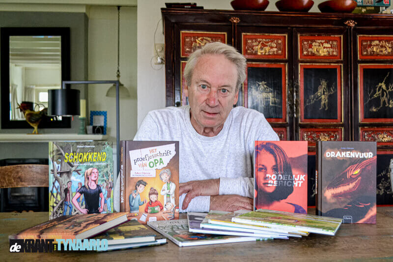 Kleintje Cultuur –  Jeugdboekenschrijver Folkert Oldersma