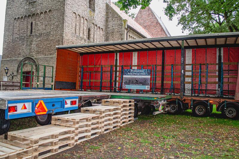 Jan Koops over de opbouw van het Tweiduuster Brinkfestival: