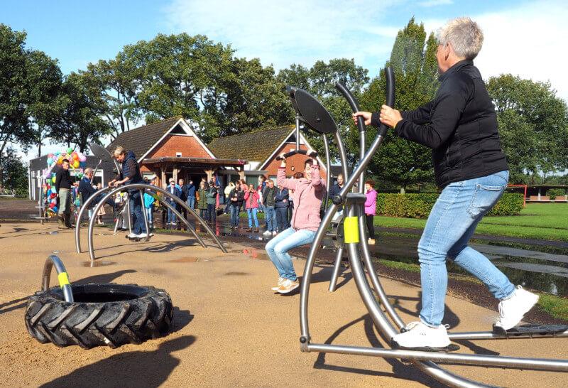 Ongenode Gast – Opening Outdoor Fitness in De Groeve