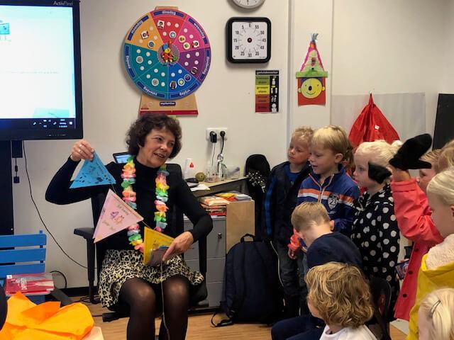 Hetty Dondorff veertig jaar in het onderwijs