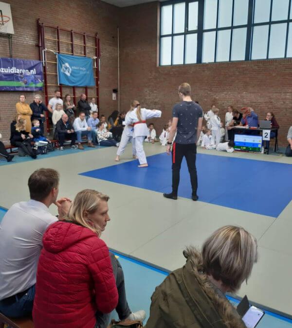 Geslaagd toernooi Judo Zuidlaren