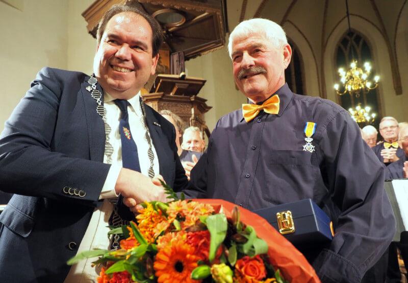 Egge Groenwold benoemd tot lid in de Orde van Oranje Nassau