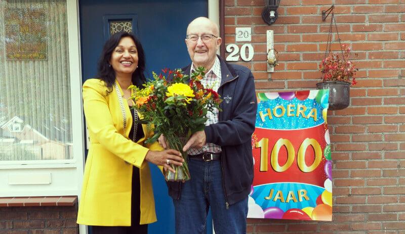 Jacob Mulder viert honderdste verjaardag