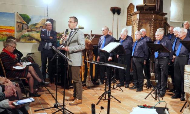 Mannenkoor Vries viert vijfentwintigjarig jubileum