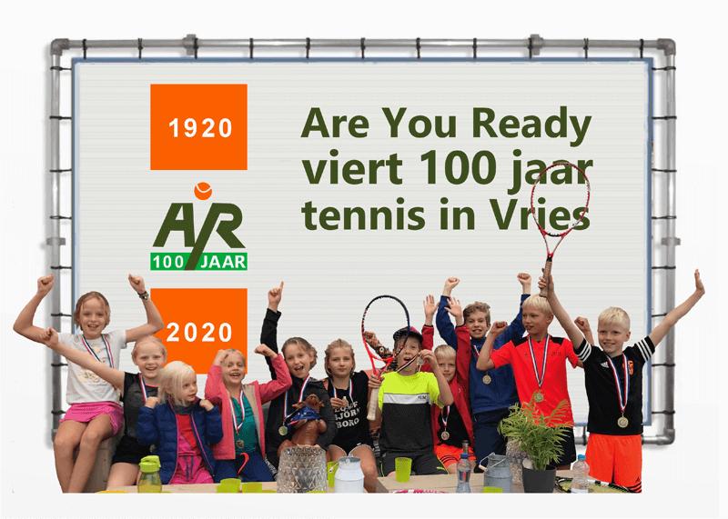 100 jaar tennis in Vries