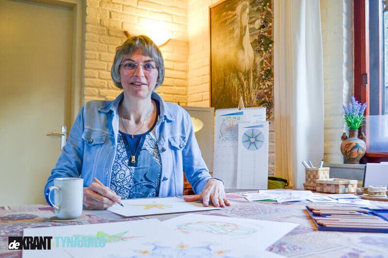 Kleintje Cultuur – Anneke Uineken, mandalatekenares