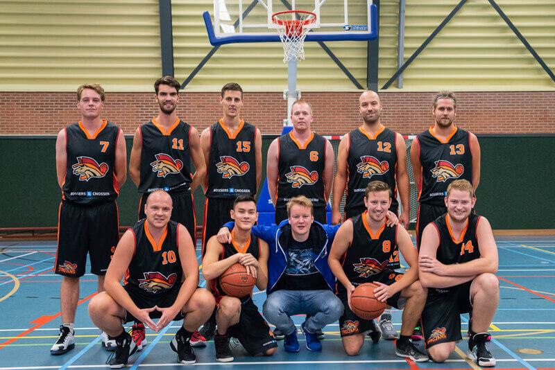 Basketbalheren Zuidlaren Trojans nemen revanche op Exercitia