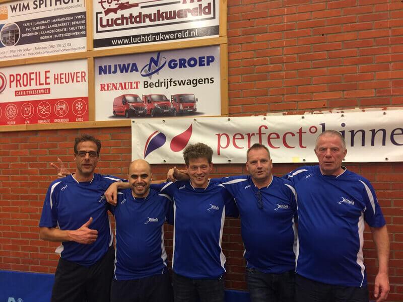 Dubbel kampioenschap voor Ritola Tafeltennis