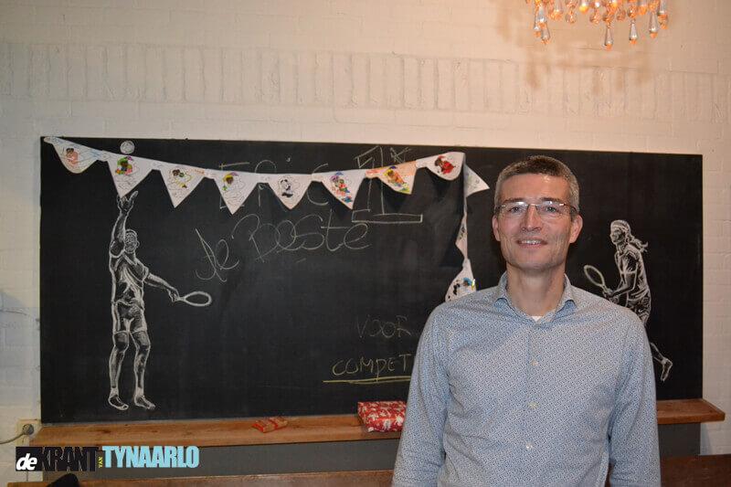 Eric Mekel tennisvrijwilliger van het jaar