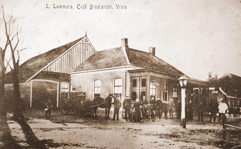 Van Toen naar Nu – Cafe Brinkzicht Vries