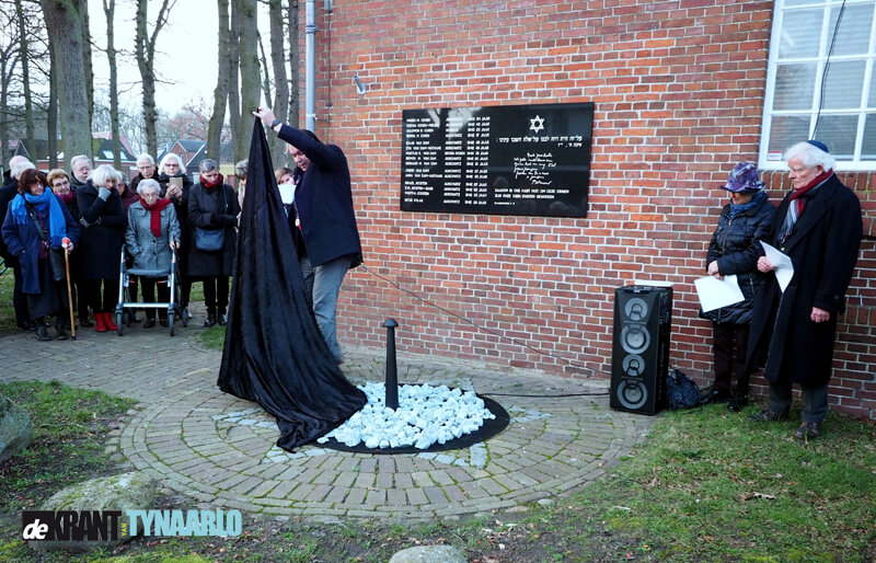 Herdenking Holocaust in synagoge Zuidlaren