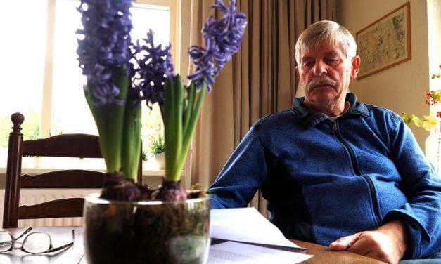 Casper Kloos (Leefbaar Tynaarlo) is niet blij met het nieuwe 'Thuiskompas'