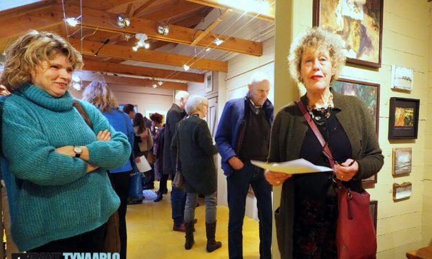 Veel belangstelling bij de opening nieuwe expositie Galerie Paterswolde