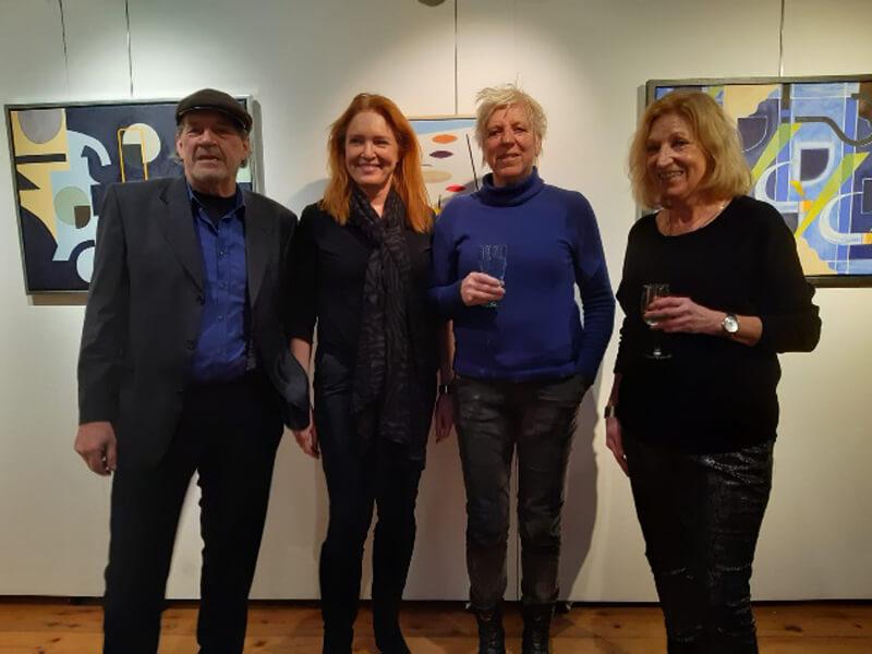 Culturele Raad Eelde opent tentoonstelling 'Verbinding' in Galerie Lemferdinge