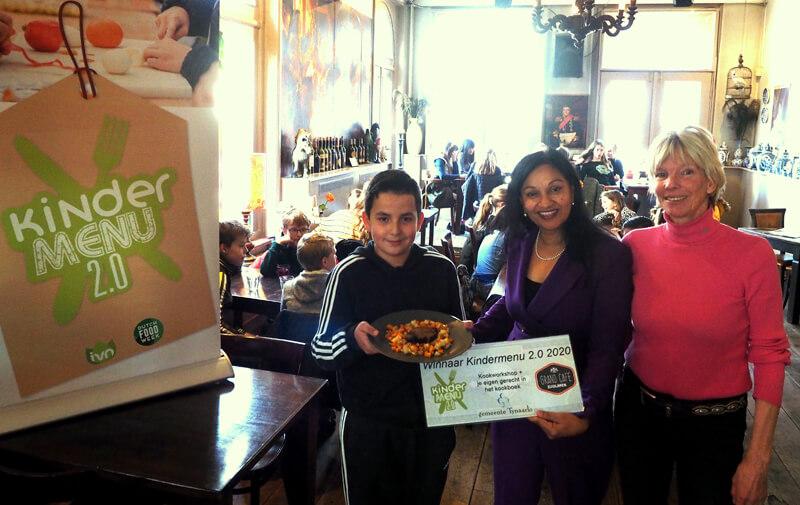 Nathan Hendriks' vergeten groenten wint Tynaarlo's Kindermenu 2.0