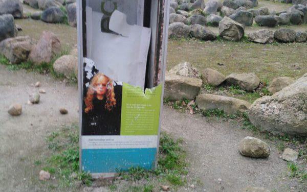 Monument Meisje van Yde vernield