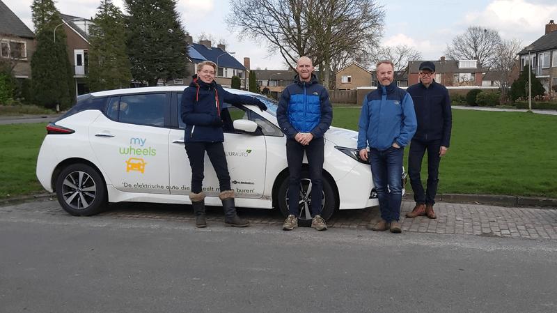 Elektrische deelauto in Eelde-Paterswolde
