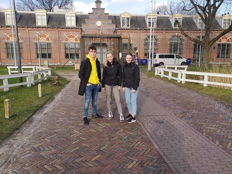 Foodstudenten Terra geven gezonde workshop in PI Esserheem te Veenhuizen