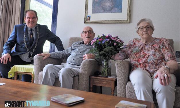 Briljant voor echtpaar Klaassens in Vries
