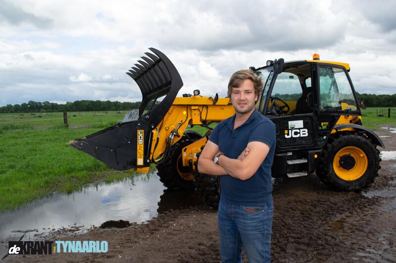 Boer Arjen Schuiling uit Tynaarlo over de boerenprotesten