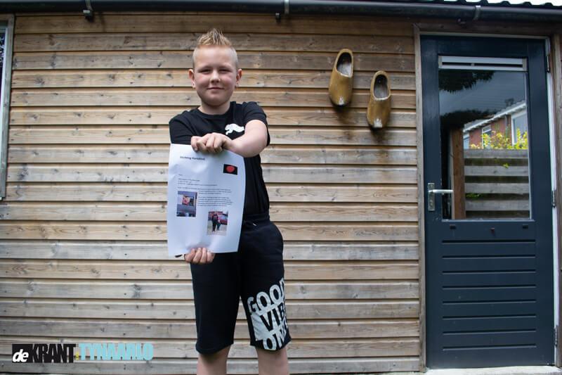 Thijs Menninga in actie voor Stichting Hartekind