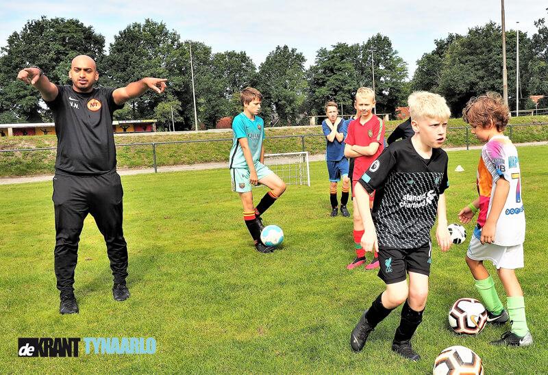 NTT Football organiseert succesvolle voetbaldagen in Vries