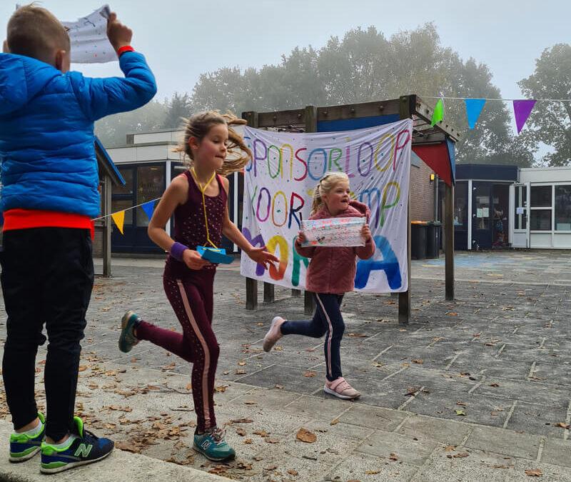 GBS de Lichtkring organiseert sponsorloop voor Stichting Bootvluchteling