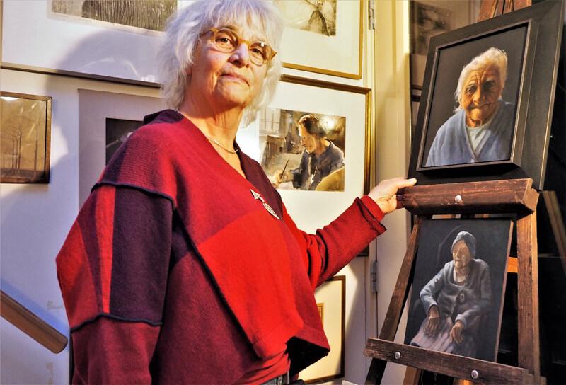 Martha Asman kunstenares van de Klassieke Academie