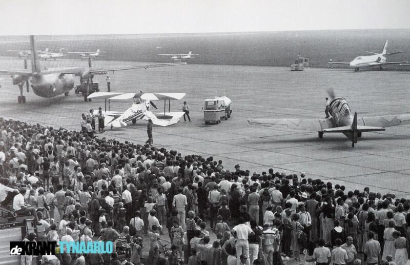Van toen naar nu Luchthaventerrein Eelde 90 jaar
