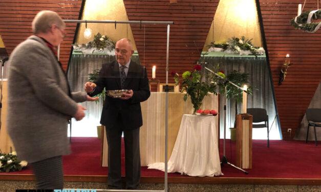 Nieuwjaarsviering onder leiding van parochianen